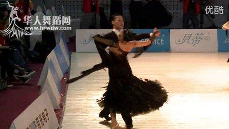 2014年第24届全国体育舞蹈锦标赛A组S复赛狐步赵鹏 汪琪
