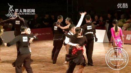 2014年CBDF中国杯巡回赛总决赛甲B组L第二轮斗牛刘佳远 刘文静