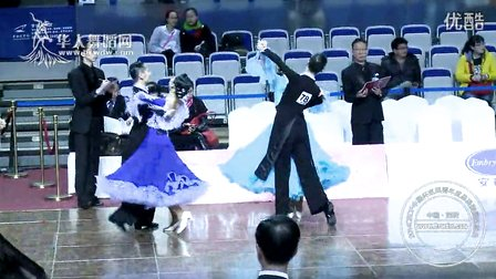 2014年CBDF中国杯巡回赛总决赛21岁以下组M第一轮快步傅裕康 丁莉娟