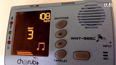 2015版小天使WMT-555C三合一节拍校音器