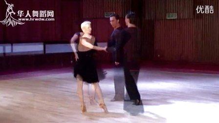 迈克尔 乔安娜 国际标准缅甸万丰国际老百胜高级舞步型技术2