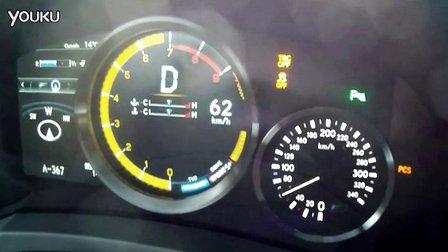 雷克萨斯Lexus RC F V8 0-238 kmh加速