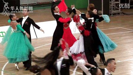 """2015年第17届CBDF""""院校杯""""公开赛青年组M复赛1狐步【VIP】郑竣 张梦"""