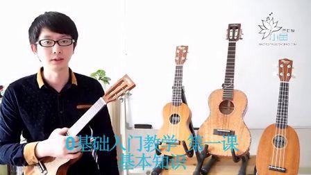【小鱼吉他屋】ukulele 0基础入门教学 第一课 基本知识