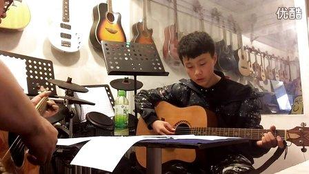 李荣浩《模特》吉他教学—乐鑫琴行现代音乐教室
