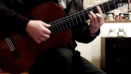 古典吉他  演奏  日本  演歌   夜明けのスキャット