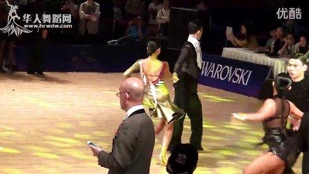 2015年中国体育舞蹈公开赛(武汉站)A组L第三轮牛仔【VIP】阎棒棒 朱静