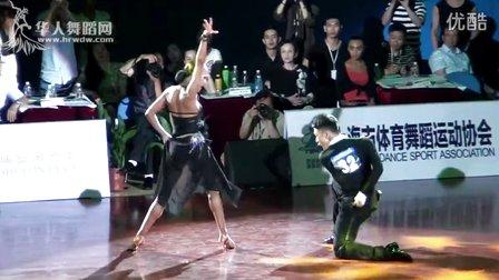 2015年中国体育舞蹈公开赛(上海站)职业组L决赛SOLO牛仔32 00649