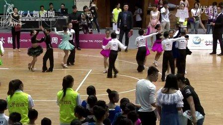 2015年CBDF中国杯巡回赛(石家庄站)业余10岁新人A组L决赛恰恰