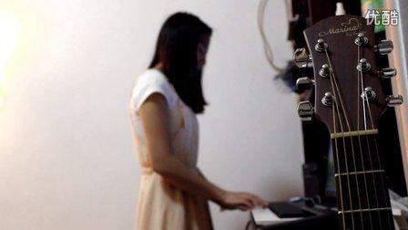 初试MIDI键盘 弹唱 盛夏的果实 莫文蔚