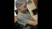5岁小男孩的烦恼
