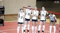 天使面孔超长美腿!哈萨克女排球美少女训练视频爆红