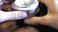 易拉罐制成的煤气灶。。。