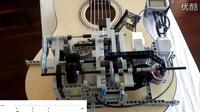 牛人用乐高做了一个会弹吉他的机器人