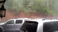 好大的冰雹雨啊。。。
