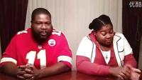"""黑人老爸和女儿的B-Box大战,最后老爹一副""""是在下输了""""的表情"""