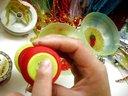 婚飾品項鏈:小梅最愛手工 水晶串珠編織蛇結手鏈項鏈戒指飾品原碼上傳