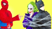 蜘蛛俠和死侍追擊小丑  搞笑英雄蜘蛛俠112