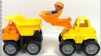 兒童電動挖掘機 男孩玩具車挖土機 挖掘機工作 608