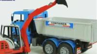 玩具視頻慣性汽車挖掘機挖土機攪拌車鏟車吊車大卡車 汽車總動員 垃圾場中文版