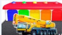 靈巧小汽車 玩具視頻慣性汽車 挖掘機 挖土機 攪拌車 鏟車 吊車 汽車總動員
