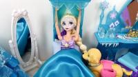 芭比娃娃小劇場-女王芭比娃娃艾莎起床后都做些什么