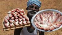 印度農村食神用100條魚做飯, 吃了這頓三天不想吃飯!