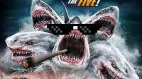 盘点电影中奇葩多头鲨鱼, 从两个头到五个头, 越来越挤了