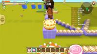 迷你世界聯機:彩虹樂園03,小伙伴一路偷吃蛋糕