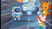 【xiao白鷺】小伴龍系列親子益智兒童學習小游戲 小伴龍之搖搖島 小伴龍兒歌 海底小縱隊