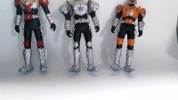 鎧甲勇士第一代炎龍俠 地虎俠 雪獒俠軟膠玩具總結視頻