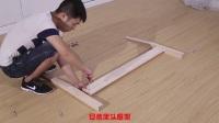 斜靠背實木床安裝、安裝時注意孔的位置!【視頻僅供參考 以實物為準】