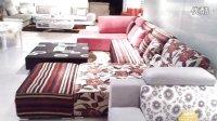 左右沙發品牌專柜正品 特價全新新款U型布藝沙發可拆洗組合現代