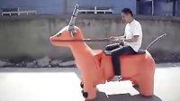 美嘉欣方向盤遙控車 大型法拉利汽車充電動漂移賽車 兒童玩具