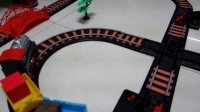 大型90CM 兒童電動軌道車 火車玩具 帶聲音