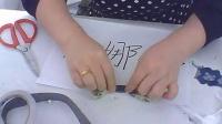超大蕾絲大蝴蝶結 DIY 手工制作發飾教程蕾絲 發箍發梳 頭箍學習方法視頻