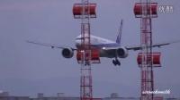 飛行機離著陸 大阪伊丹空港 千里川堤防 スカイパーク伊丹 スカイランドHARADA Airline