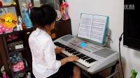 电子琴演奏《陕北民歌》20150607