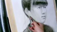 [奇藝繪畫]素描頭像手繪人物肖像清晰