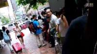 香港尖沙咀代購珍妮曲奇小熊餅干排隊過程!_標清