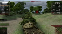 坦克世界新手教學視頻解說之中坦卡位以后再卡位 第三十五集 傻哥視頻
