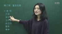 韓語教學視頻 韓語發音入門韓國語基礎第3課
