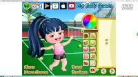 【可愛寶貝】:可愛寶貝網球運動裝