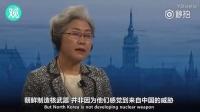 中國外交部前副部長傅瑩女士在慕尼黑安全會議舌戰西方外交官