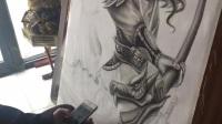 青島藝繡堂紋身 手稿設計
