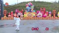 柔力球双拍双球健身套路第三集《夕阳红》 背面动作示范