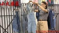 小火柴家2017夏季新款超值牛仔褲背帶褲系列視頻走份組合(包郵)