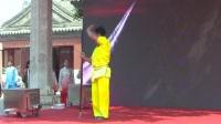 第六屆白云杯太極邀請賽嘉賓表演——北京體育大學
