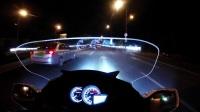 春風650TR-G國賓磨缸夜飛鄭和公園 ER6F全程陪伴