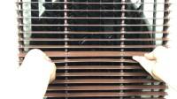 雷豹凉博士上下手动摆叶蒸发式冷风机水空调扇 MFC3600 调节风叶
